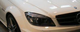 ディテール洗車が大切です!メルセデス AMG C63 ガラスコーティング