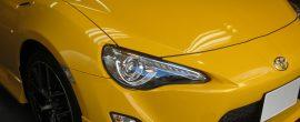 塗装の保護に!トヨタ 86 GT Yellow Limited ガラスコーティング